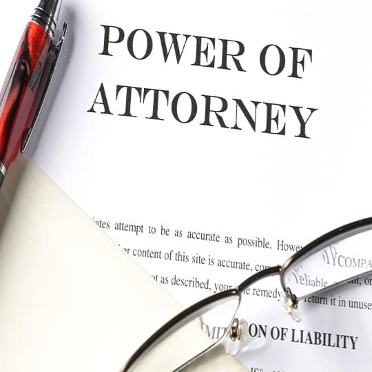 Types of Power of Attorney in The UK